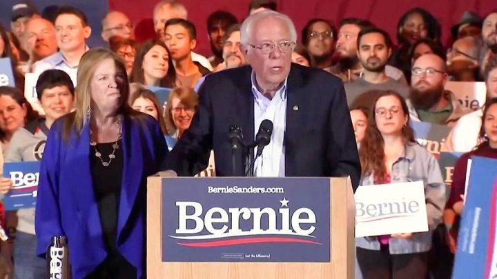 Vittoria schiacciante di Bernie Sanders in Nevada