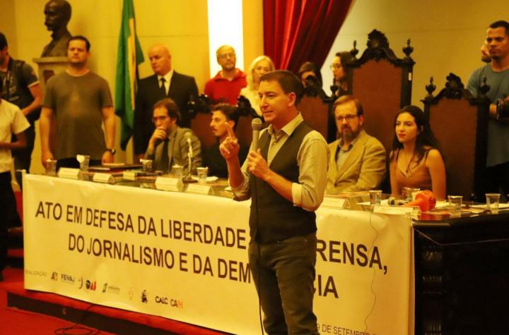 """Lula: """"Glenn Greenwald ist das jüngste Opfer bei der Zerschlagung der brasilianischen Demokratie"""""""