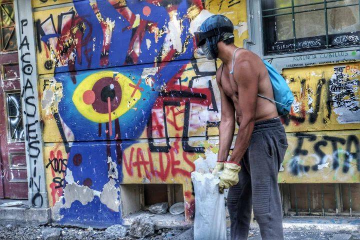 [Chili] Interview de Claudia Aranda avec des jeunes de la «première ligne»
