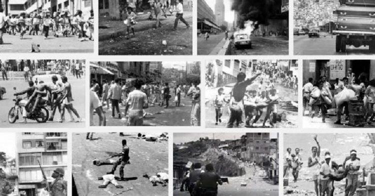 Le «Caracazo»*: il y a 31 ans