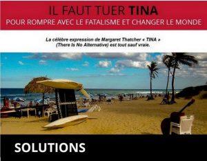 Dépasser les constats et proposer. Newsletter TINA spécial COVID-19. Les solutions existent