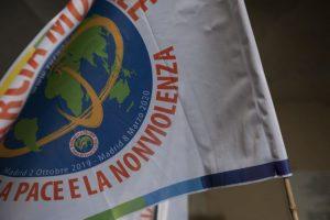 Il passaggio della Marcia Mondiale per la Pace e la Nonviolenza in Italia di fronte all'emergenza coronavirus