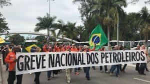 Trabajadores de Petrobras continúan huelga nacional en Brasil