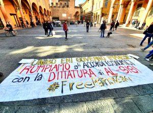 L'Università di Bologna si ferma, quasi 700 in piazza per Zaky
