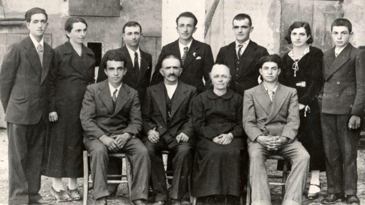Alcide Cervi Famiglia