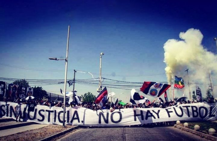Chilean football, between repression and rebellion