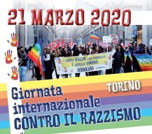 21 marzo 2020 Iniziative per la Giornata Internazionale  per l'eliminazione della discriminazione razziale