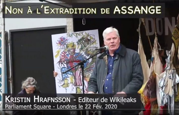 Don't Extradite Assange : le message de Kristin Hrafnsson
