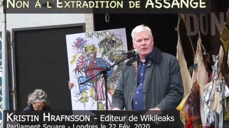 Don't Extradite Assange : le message de Kristin Hrafnsson