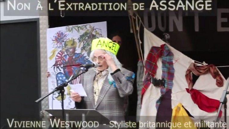 Don't Extradite Assange : le message de Vivienne Westwood