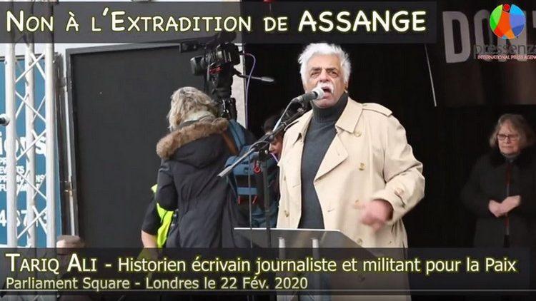 Don't Extradition Assange : Le message de Tariq Ali
