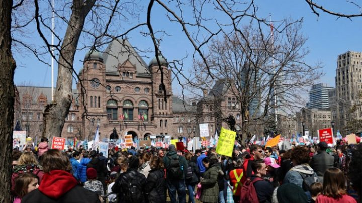 Elementary Teachers' Federation of Ontario. No bargaining dates set by government, ETFO take action Monday