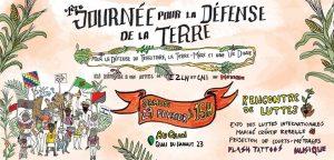 Première Journée pour la Défense de la Terre à Bruxelles