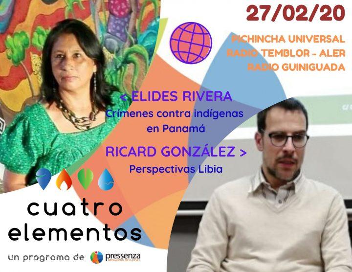 Cuatro Elementos del 27/02/2020 Libia y Costa Rica