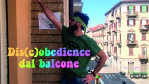 Flash mob dal balcone in quarantena
