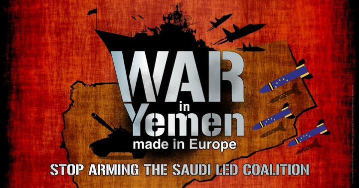 "Guerra nello Yemen, ""Made in Europe"""