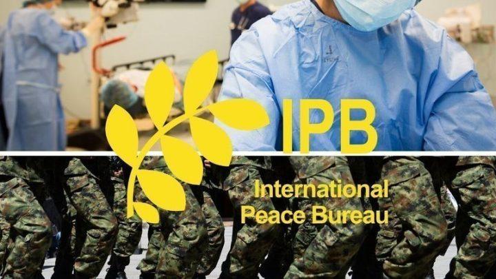 Oficina internacional de la paz: Desvíen el gasto militar a la salud ¡Ahora!