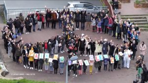 Paris et sa région célèbrent la Marche mondiale pour la Paix et la Nonviolence