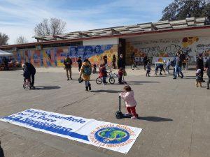 Passaggio della Seconda Marcia Mondiale per la Pace e la Nonviolenza a Roma