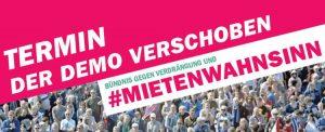 #HousingActionDay2020: Fenster- und Online-Demonstration gegen Mietenwahnsinn und Verdrängung