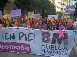 Día internacional de la mujer en Murcia