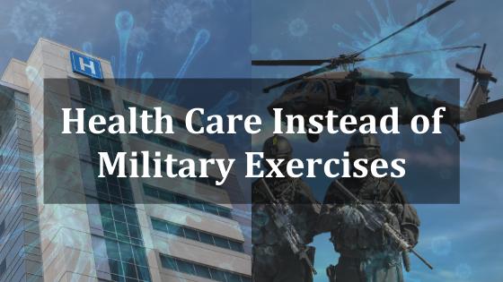 Pandemia ed esercitazioni militari