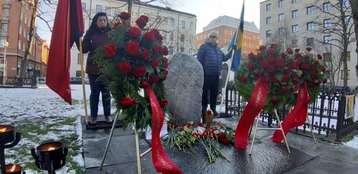 Herederos de la solidaridad de Olof Palme se levantan por Chile