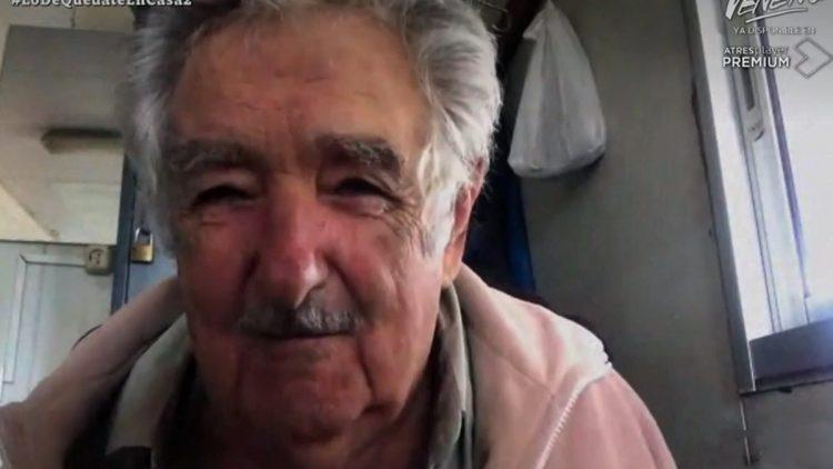 Josè Pepe Mujica durante la videointervista