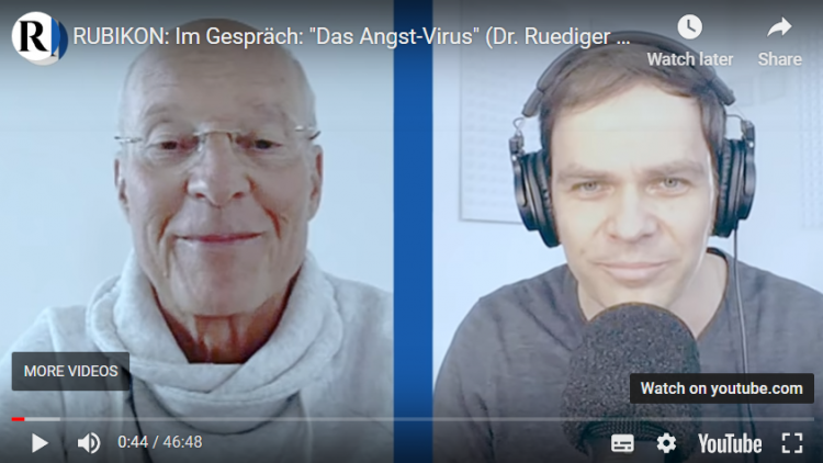 Dr. Rüdiger Dahlke klärt im Rubikon-Gespräch über den bestmöglichen Schutz vor dem Coronavirus auf.