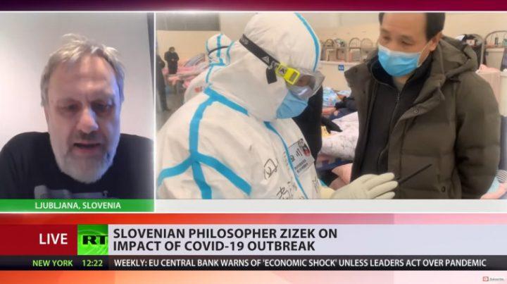 Σλάβοϊ Ζίζεκ: «Πρέπει να δράσουμε με έναν ενιαίο και συντονισμένο τρόπο βοηθώντας ο ένας τον άλλο»