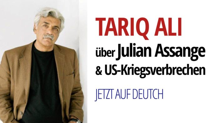 Der Fall von Julian Assange & US-Kriegsverbrechen | Mit dem britischen Intellektuellen Tariq Ali