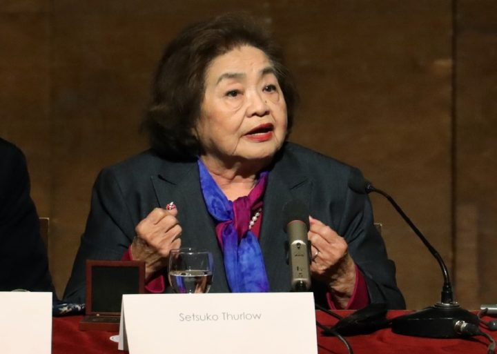 """Setsuko Thurlow: """"Il mio attivismo anti-nucleare e la mia spiritualità sono la stessa cosa"""""""