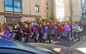 Madrid, 6 de marzo. Huelga en el Colegio Lourdes