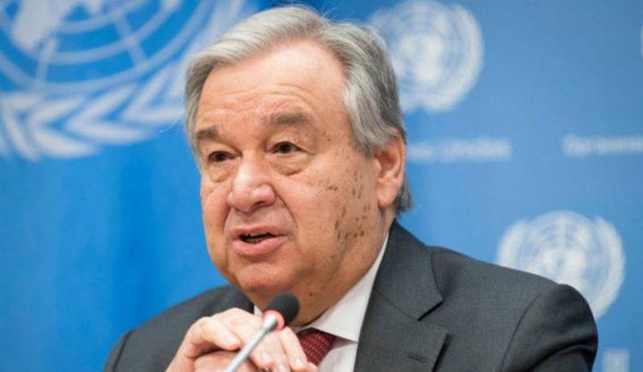 UN-Generalsekretär Guterres ruft zu einem globalen Waffenstillstand auf