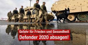 Militärmanöver Defender Europe 2020 muss wegen Coronavirus sofort abgesagt werden