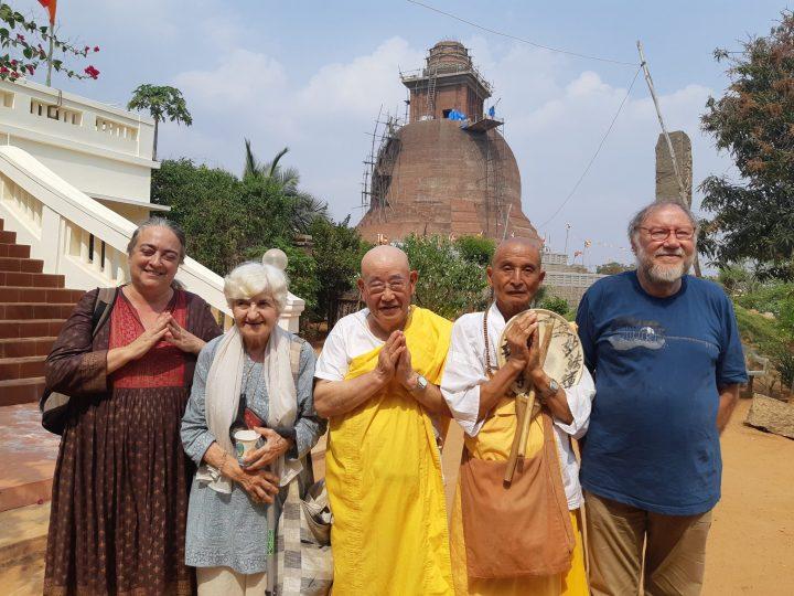 delegazione con moroshita