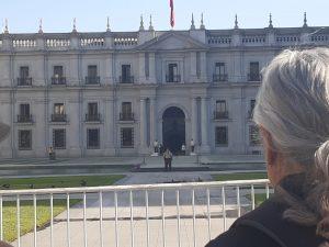 33×33 frente a La Moneda