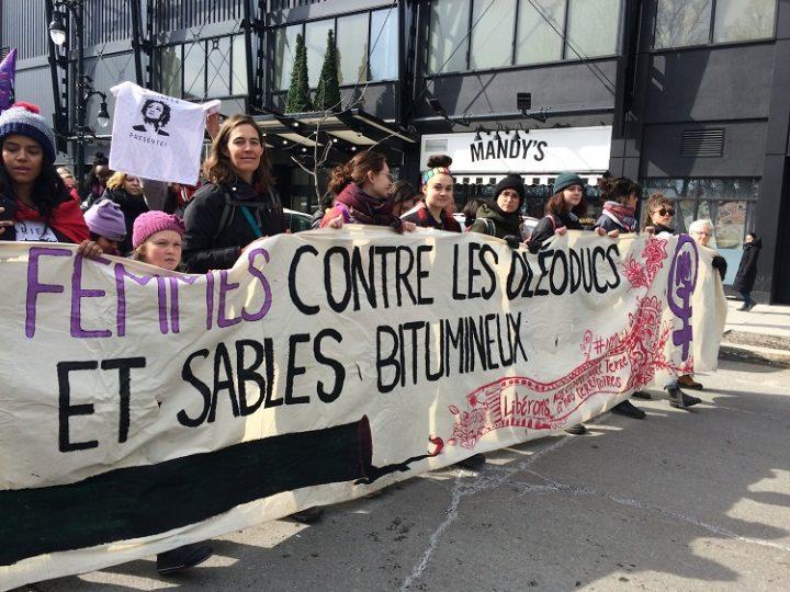 femmes contres pipeline