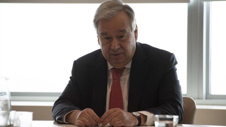 Antonio Guterres, Secrétaire général des Nations unies, a appelé aujourd'hui à un cessez-le-feu mondial