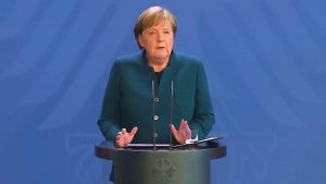 Angela Merkel se pone en cuarentena después de que su doctor diera positivo por COVID-19