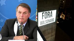 Millones de brasileños protestan desde ventanas y balcones, exigiendo la destitución del presidente Bolsonaro