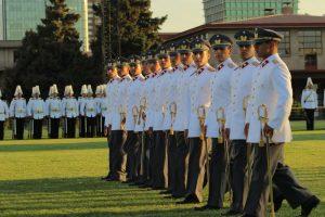 Militares en sus cuarteles