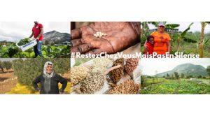 #RestezChezVousMaisPasEnSilence – In tempi di pandemia, i contadini e le contadine si uniscono per sfamare i popoli!