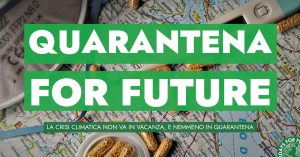 Quarantena for future – Le iniziative di FFF Italia