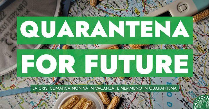 Quarantena for future – Le iniziative di FFF Italia