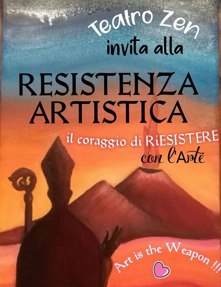 """A Napoli """"Resistenza Artistica – Il coraggio di riesistere con l'Arte"""""""