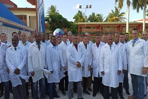 Cuban doctors travel to Italy to help fight Covid-19