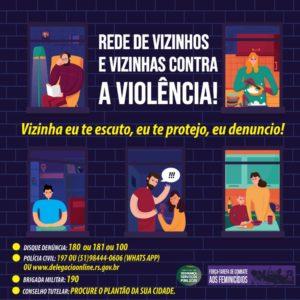 Força-tarefa lança campanha para combater violência doméstica durante isolamento social