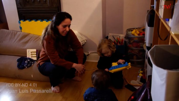 Julian Assange's fiancée (and children) revealed for the first time
