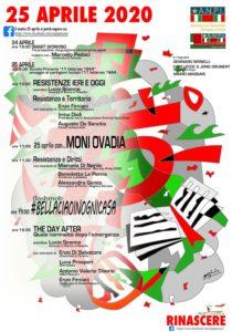 Festa della Liberazione 2020, fonte: ANPI Pescara